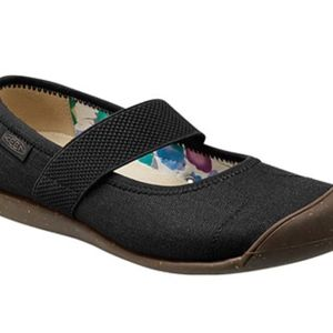 👟KEEN **charcoal Women's Sienna Mj Canvas Shoes -